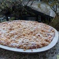Apfelkuchen mit Streusel - torta di mele con crumble