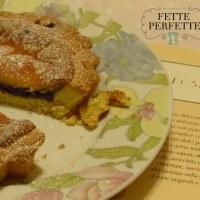 Crostata con marmellata di mirtilli e crema al mascarpone