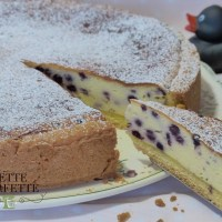 Käsekuchen- Cheesecake ai mirtilli