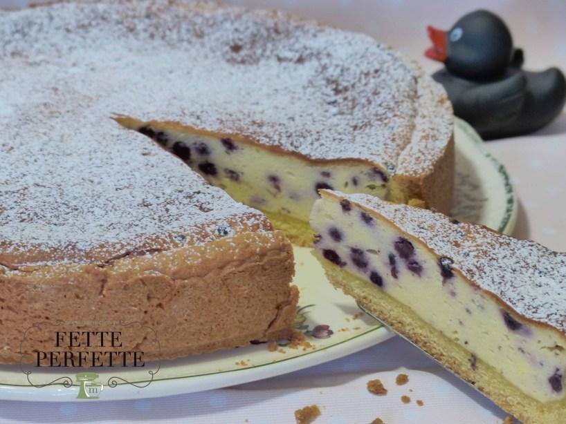 cheese cake con mirtilliph