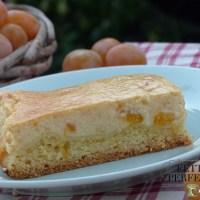Käsekuchen (cheesecake) con ramassin