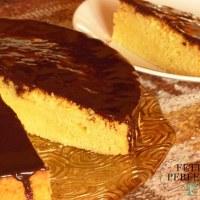 Torta di zucca con ganache al cioccolato