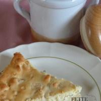 Cheesecake (Käsekuchen) di mele